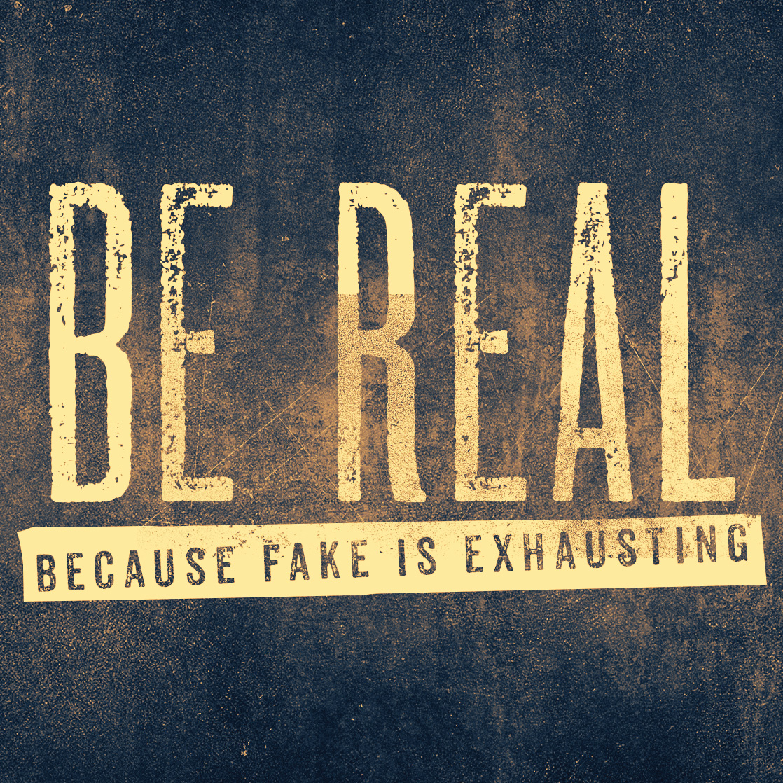 "Be Real Because Fake is Exhausting:  ""Flawed Man"""